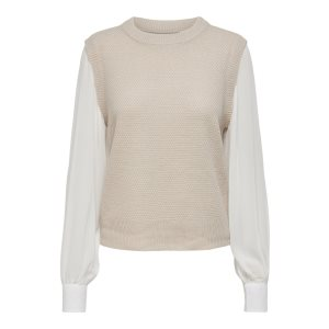 ONLBREONNE L/S PULLOVER CC KNT
